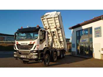 Caminhão basculante Iveco TRAKKER 450 8x4 Meiller Kipper Bordmatik Euro6
