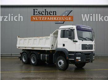 Caminhão basculante MAN TGA 26.430 BB, 6x4, Klima, Blatt