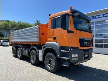 Caminhão basculante MAN TGA 35.540 8x6H BL Eur 5 Kipper DAUTEL Bordmatic