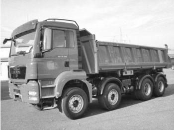 Caminhão basculante MAN TGS 35.440 8x4 Meiller Kipper Bordmatic TOP