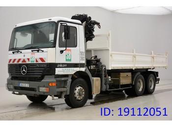 Caminhão basculante Mercedes-Benz Actros 2631 - 6x4
