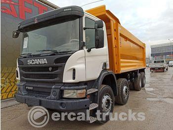 SCANIA 2016 P400 AUTO AC 8X4 EURO5 HARDOX TIPPER 7 PCS - caminhão basculante