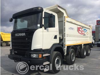 SCANIA 2017 G 450 AUTO AC EURO 6 8X4 HARDOX TIPPER - caminhão basculante