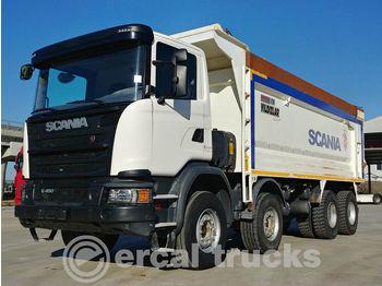 SCANIA 2018 G 450 8X4 AUTO EURO 6 AC HARDOX TIPPER - caminhão basculante