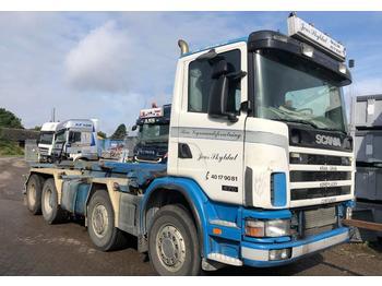 Caminhão basculante Scania 124 - 470 HK - 8X4