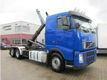 Caminhão polibenne Volvo FH 460 6x2 Palfinger Haken AHK Topzustand
