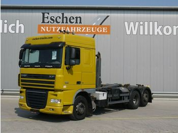 Camion ampliroll DAF XF 105.460, 6x2,Space Cab, EEV, Meiller RK 20.60