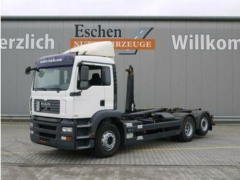 Camion ampliroll MAN TGA 26.360 6x2-2 BL, Meiller RK 20.65, Bl/Lu