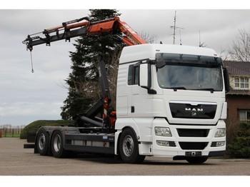 MAN TGX26/440 KRAN/HAAK!!EURO5!!2012TOP!!! - camion ampliroll
