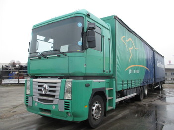 Renault MAGNUM 460 DXI RETARDER - camion bâche