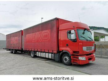 Renault Renault Trucks PREMIUM 450 DXi euro 5 +SAMRO  - camion bâche
