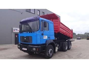 MAN 26.464 (6 CYLINDER / STEEL SUSP. / BIG AXLE) - camion basculantă