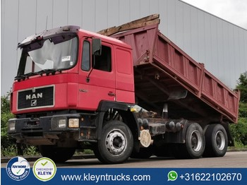 MAN 27.403 6x4 manual steel - camion basculantă