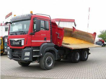 Camion basculantă MAN TG-S 26.480 6x6H 3-Achs Allradkipper Bordmatik