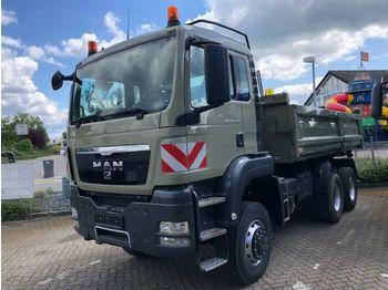 Camion basculantă MAN TG-S 26.480 6x6 BB 3-Achs Allradkipper Bordmatik