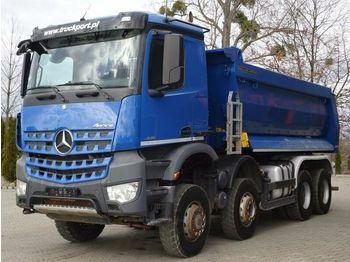 Camion basculantă Mercedes-Benz AROCS 4145 8x6 EURO6 Muldenkipper TOP!