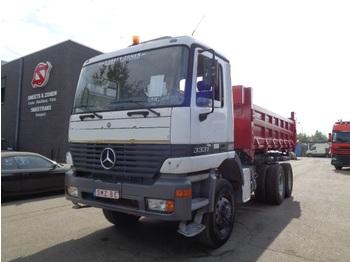 Mercedes-Benz Actros 3331 6x6 manual - camion basculantă
