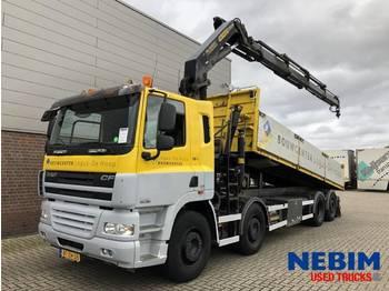 DAF CF85 360 Euro 5 8x2 - PALFINGER PK21502 - camion benne