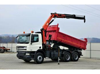 DAF CF 85.360 *Kipper 5,00 + Kran/FUNK*Topzustand!  - camion benne
