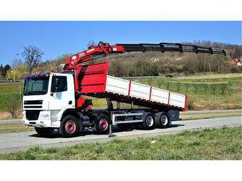 DAF CF 85.380 *Kipper 7,20 + Kran/FUNK*Topzustand!  - camion benne