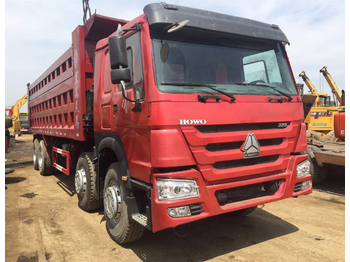 HOWO 375 - camion benne