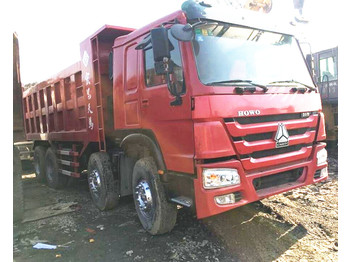 HOWO 380 - camion benne