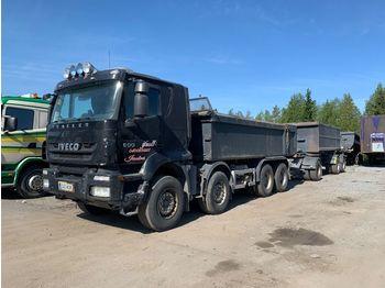 IVECO Trakker AT410T500 - camion benne