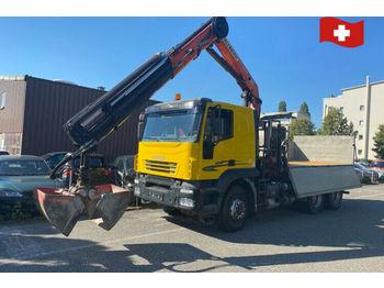 Iveco 260T44 Trakker  - camion benne