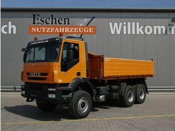 Camion benne Iveco AD 260 T 41 W, 6x6, Blatt