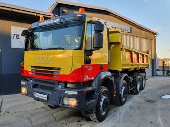 Iveco TRAKKER AD410T45 8X4 bordmatic - camion benne