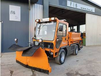 Ladog G129 N20 snow plate + salt machine + tipper - camion benne