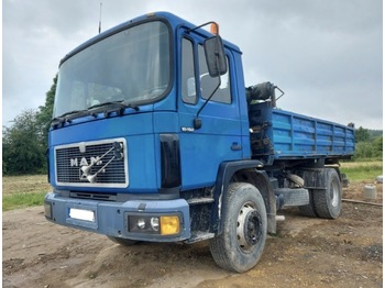 MAN 18.192 - camion benne