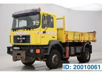 Camion benne MAN 19.403 - 4x4