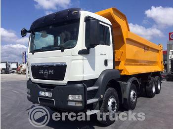 MAN 2011 TGS 41.400 /AC-8X4-EURO5-HARDOX TIPPER - camion benne