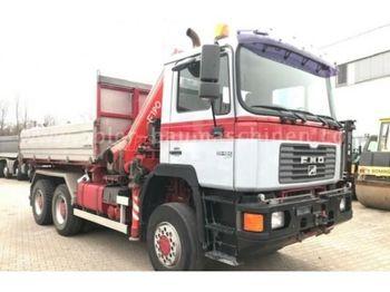 Camion benne MAN 33464 Darus