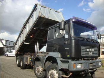 Camion benne MAN 35-364 8x8 FULL STEEL SPRINGS: photos 1
