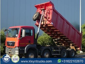 Camion benne MAN 41.390 TGS 8x4 full steel 20m3