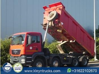 Camion benne MAN 41.400 TGS 8x4 full steel 20m3