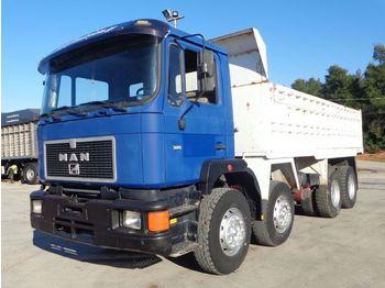 MAN MAN 35.372 (8X4) KIPPER - camion benne