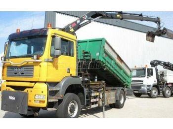 MAN TGA 18.310 4x4 Darus 3 old. Billencs - camion benne