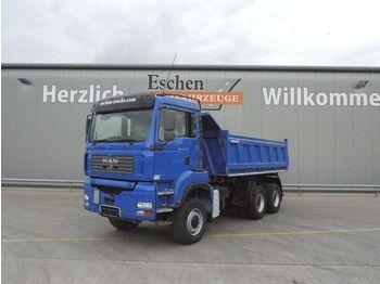 Camion benne MAN TGA 26.390 BB 6x6 Meiller AK 3-Seiten-Kipper