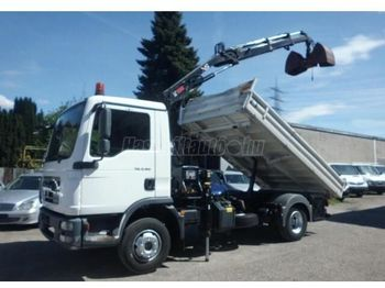 MAN TGL 8.180 - camion benne