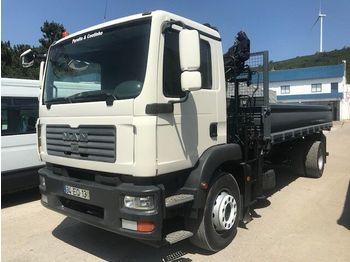 Camion benne MAN /TGM 18.280 Crane / Kipper/