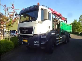 MAN TGS 26.440 6X6 BB - camion benne