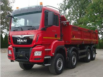 Camion benne MAN TGS 35.460 8x6 BB Kipper Meiller mit Bordmatik