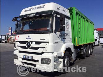 MERCEDES-BENZ 2012 AXOR 3229/AC- EURO5-8X2-BOX TIPPER ORGINAL ENGINE - camion benne