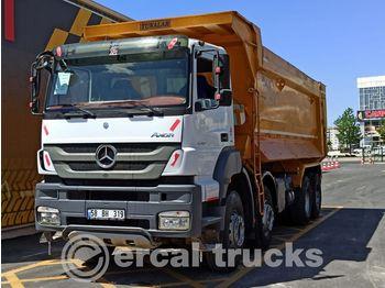 MERCEDES-BENZ 2016 AXOR 4140 E5 AC 8X4 HARDOX TIPPER - camion benne