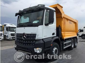 MERCEDES-BENZ 2017 AROCS 3342 MANUEL E6 AC 6X4 HARDOX TIPPER - camion benne