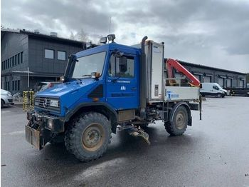 MERCEDES-BENZ Unimog U100L 4x4 - camion benne