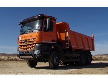 Mercedes-Benz 3342 6X6 Mulden Kipper Euromix ET 18  - camion benne